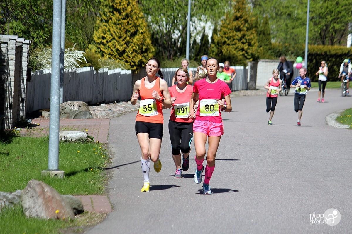 , Maijooks 2014, Täppsportlased