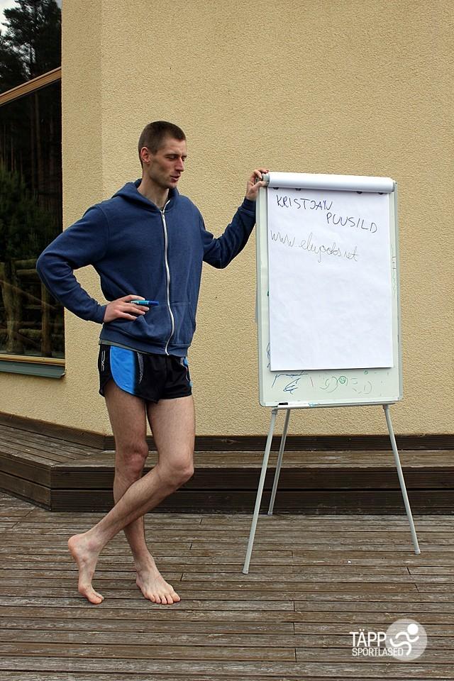 , Täppsportlaste suvelaager Valgehobusemäel (1. osa), Täppsportlased