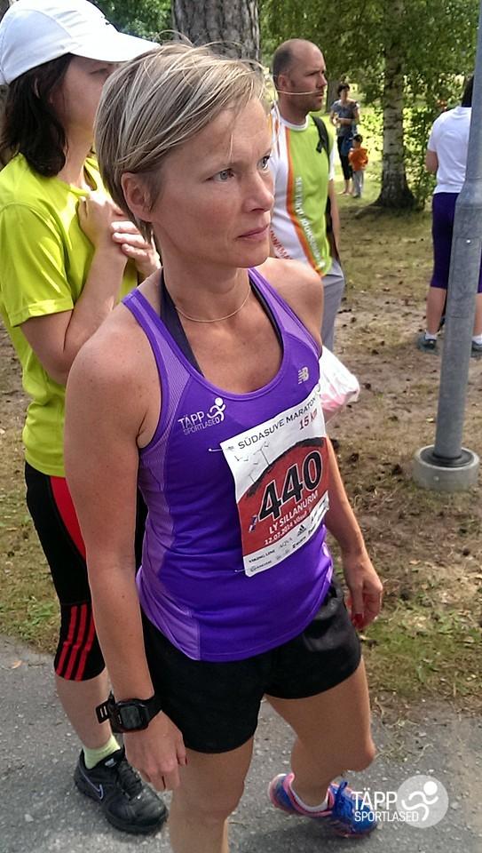 , Südasuve maraton Võsul, Täppsportlased