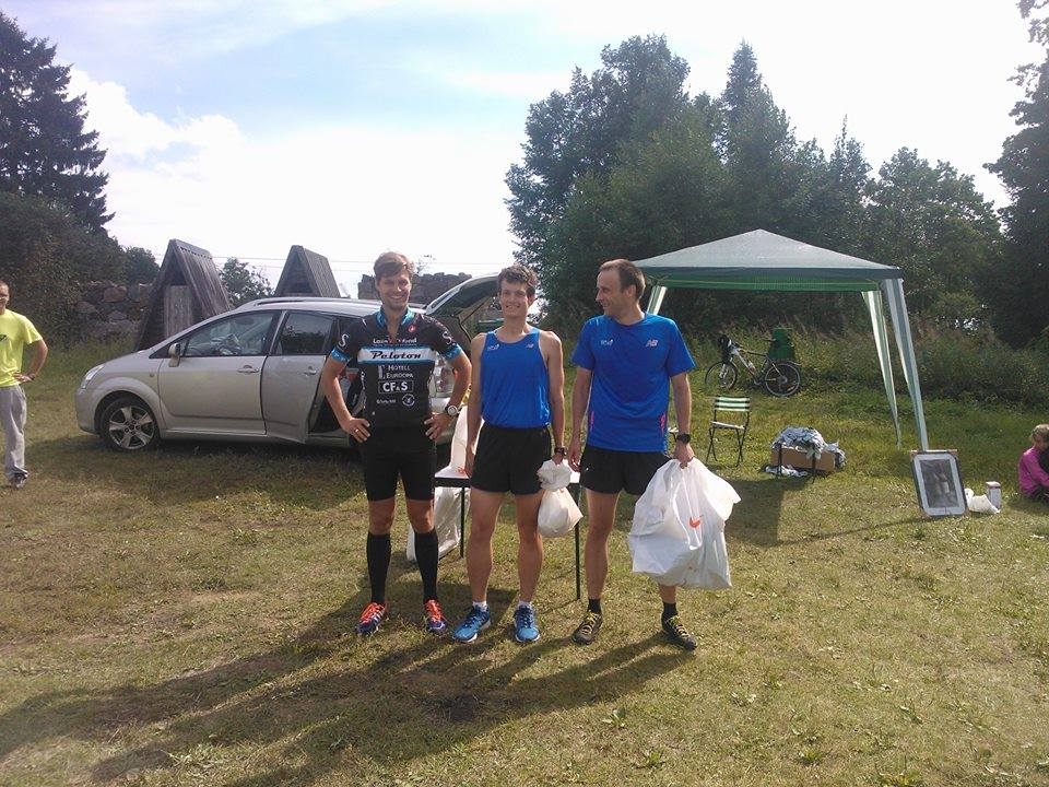 , XIV Hiiemäe jooks, Täppsportlased