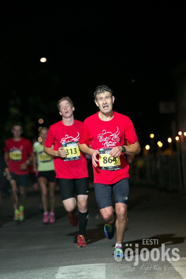 , Ööjooks 2014, Täppsportlased
