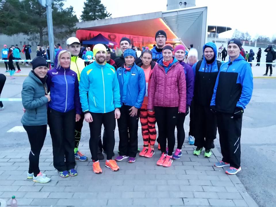 , Pirita Jüriöö jooks 2016, Täppsportlased