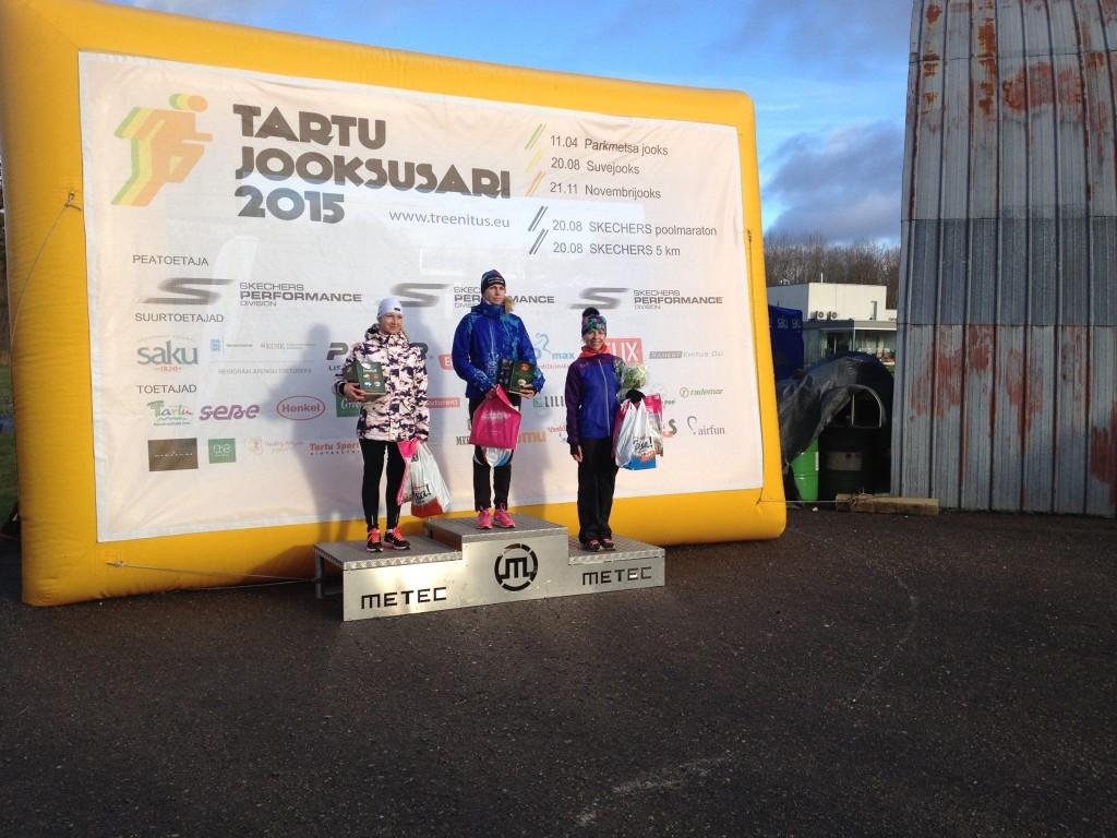 , Tartu Novembrijooks 2015, Täppsportlased