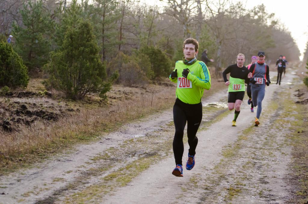 , 136. Pööripäevajooks, Jooks Talvesse, Täppsportlased