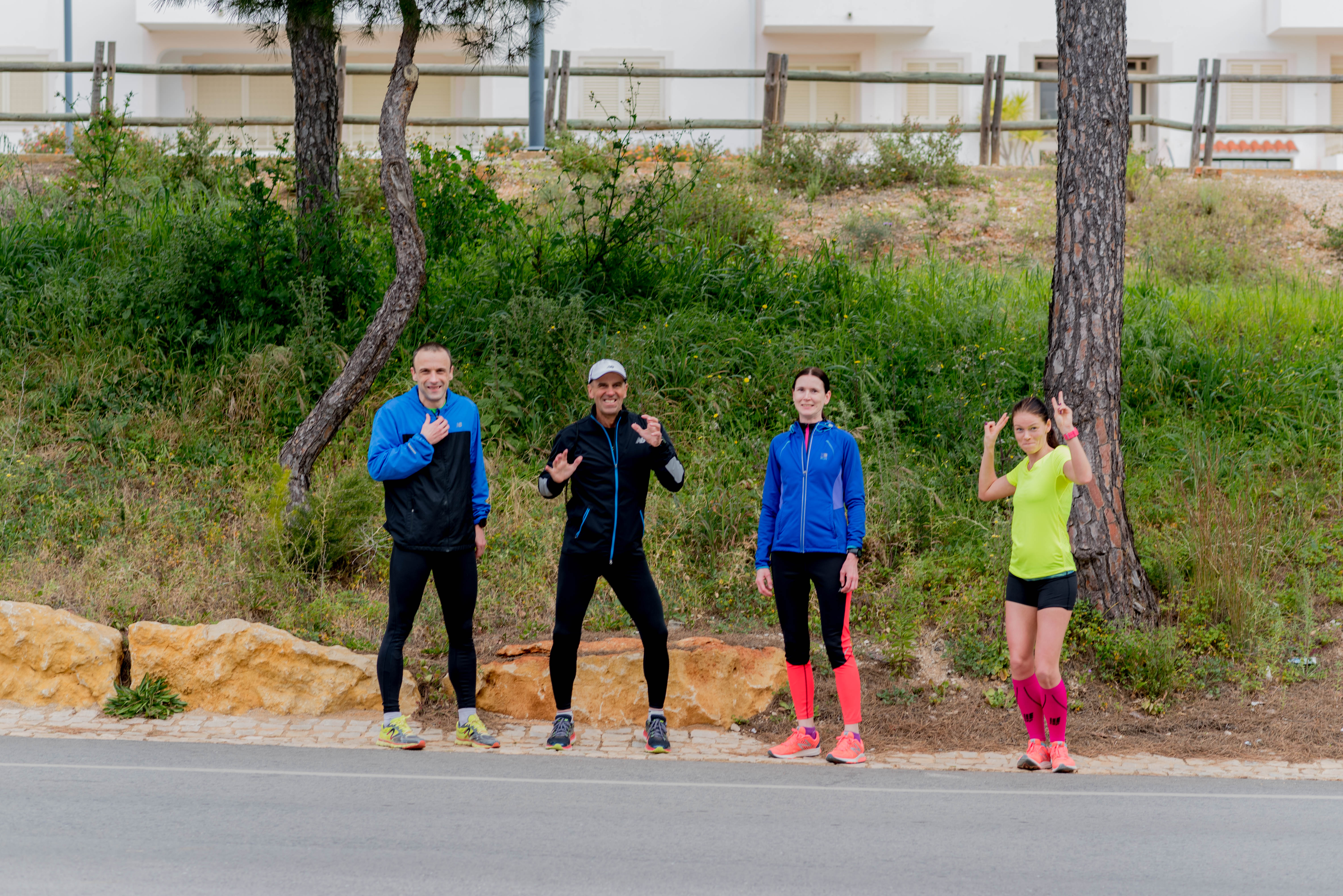 , Falesia 5 km maanteejooks, Täppsportlased