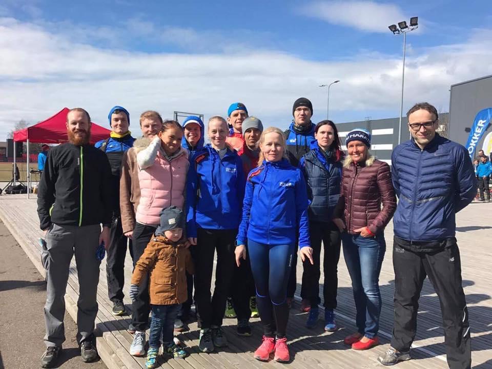 , Haapsalu maanteejooks 2017, Täppsportlased
