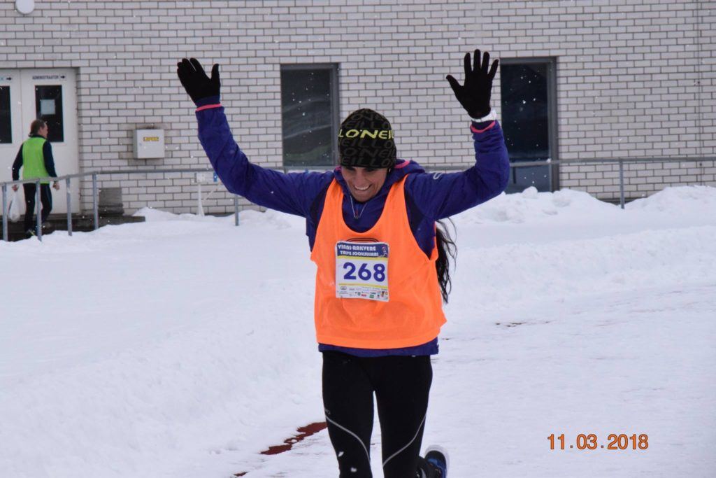 , Vinni-Rakvere talvejooksusarja 3. etapp 2018., Täppsportlased
