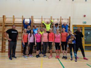, Kohila 800 m, Täppsportlaste suvelaager, Tipust TOP-ni, 100*10000 m MR., Täppsportlased