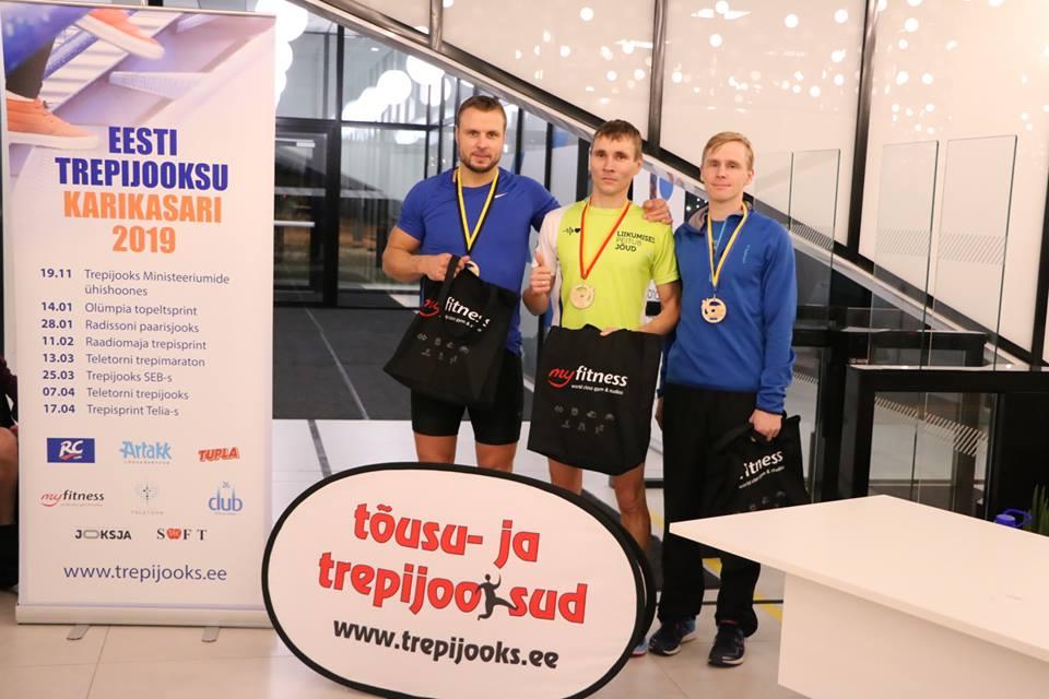 , Pääsküla rabamaron ja poolmaraton ning trepijooksude esimene etapp, Täppsportlased