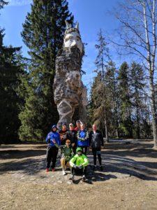 , Aprillikuu esimese poole võistlemistest, Täppsportlased