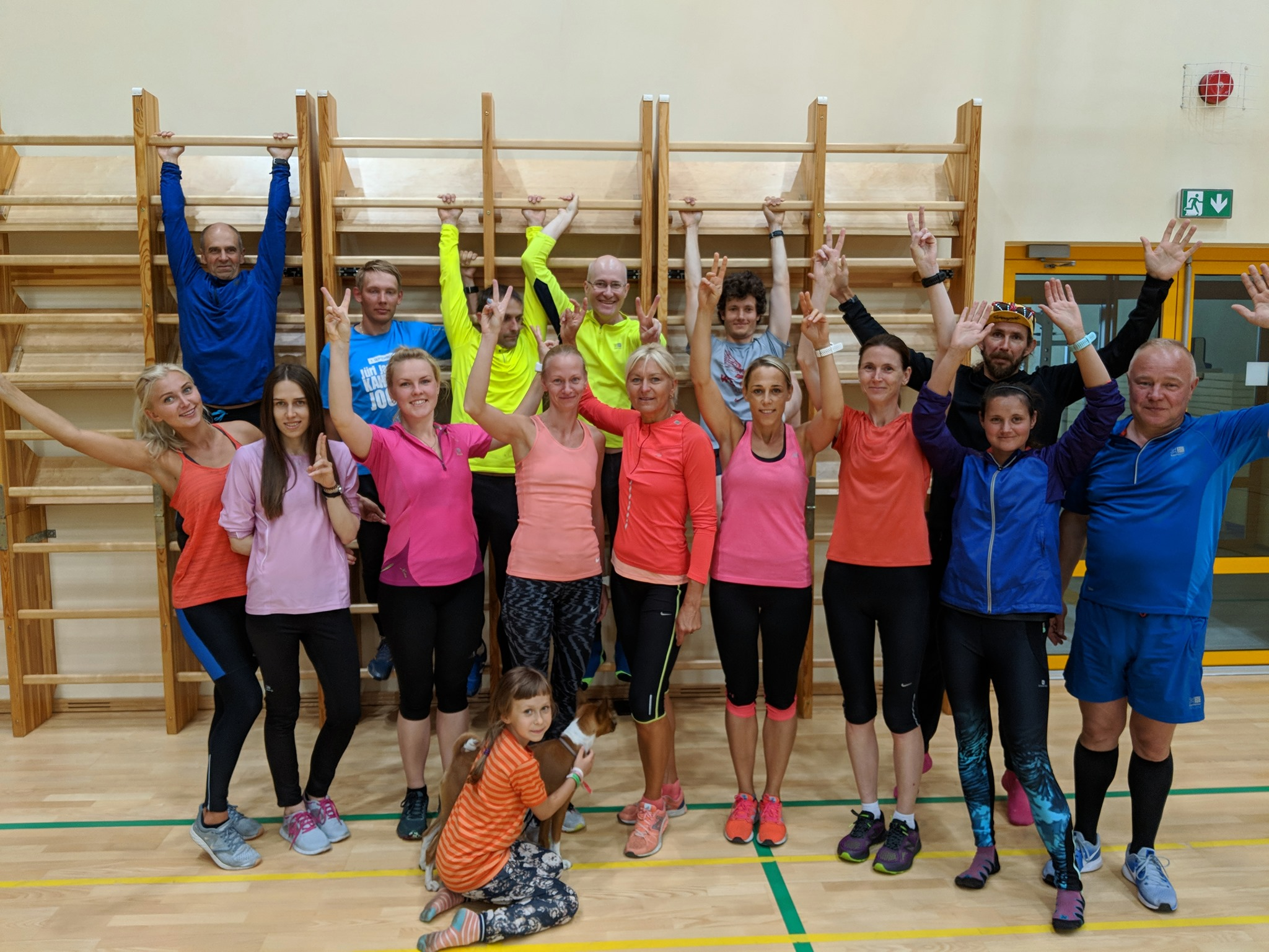 , Täppide suvelaager Jõulumäel 27.-30.06.2019, Täppsportlased