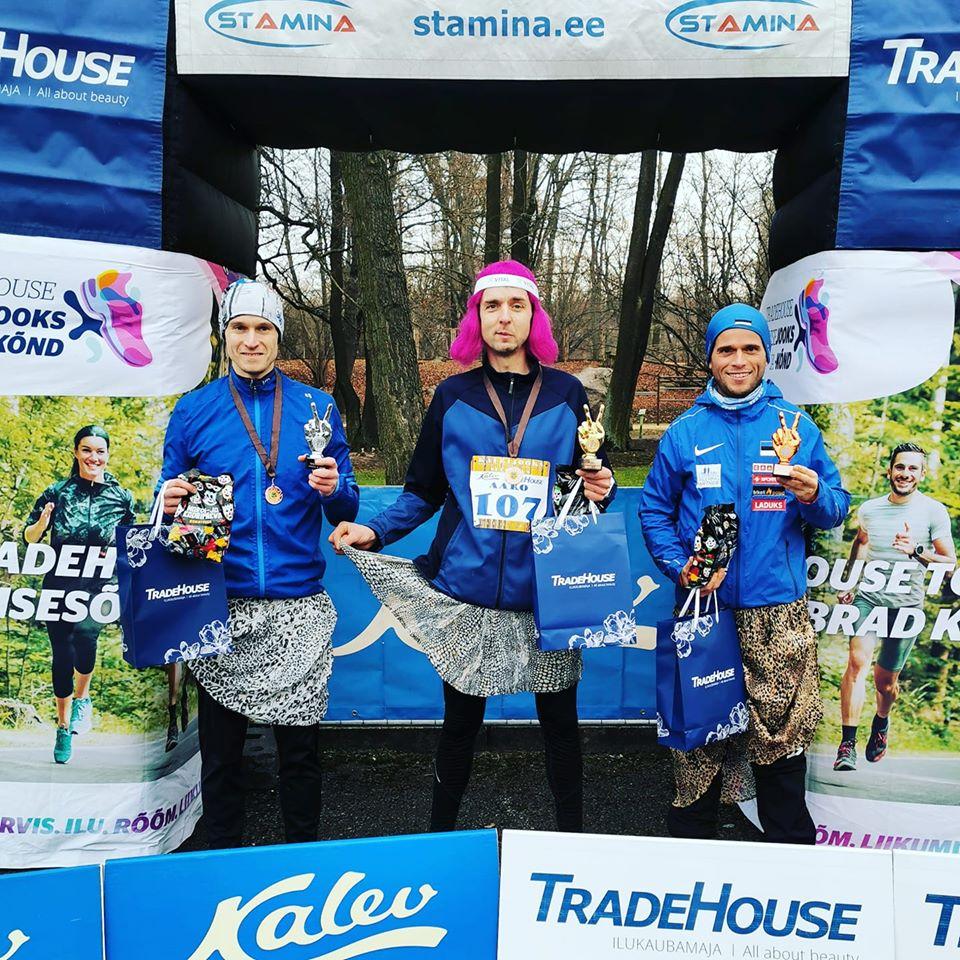 , Pääsküla raba maraton ja Kadrijooks, Täppsportlased