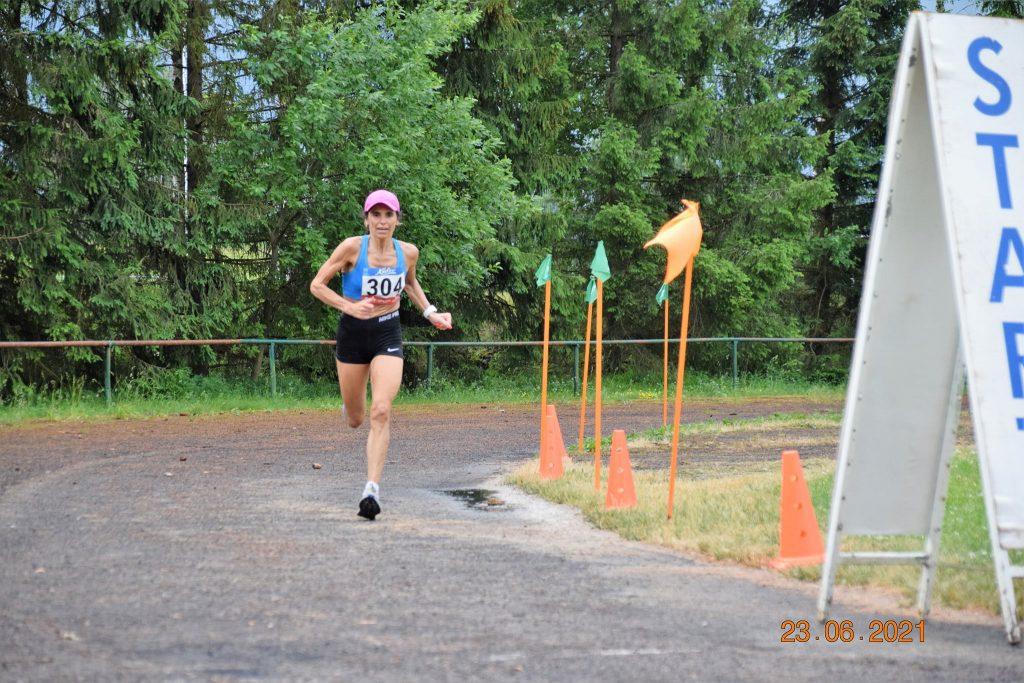 Liliana Rapla võidujooksul